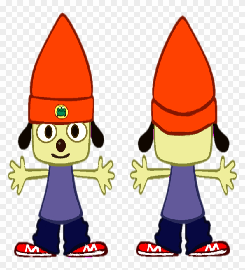 Parappa Front Back - Parappa The Rapper Front Back #847173
