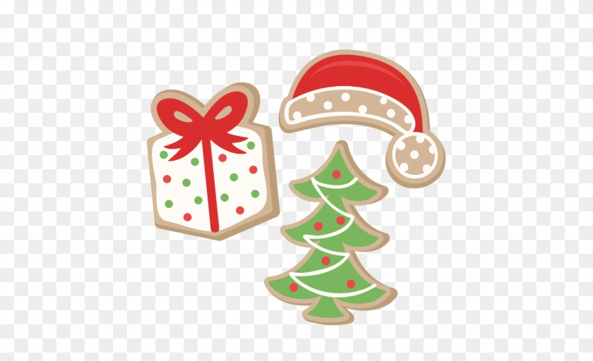 Christmas Cookie Cliparts Free Download Clip Art Free - Cute Christmas Cookies Clipart #847182
