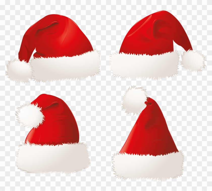 Christmas Santa Hats Png Clipart Picture - Clipart Cute Santa Hat #847328