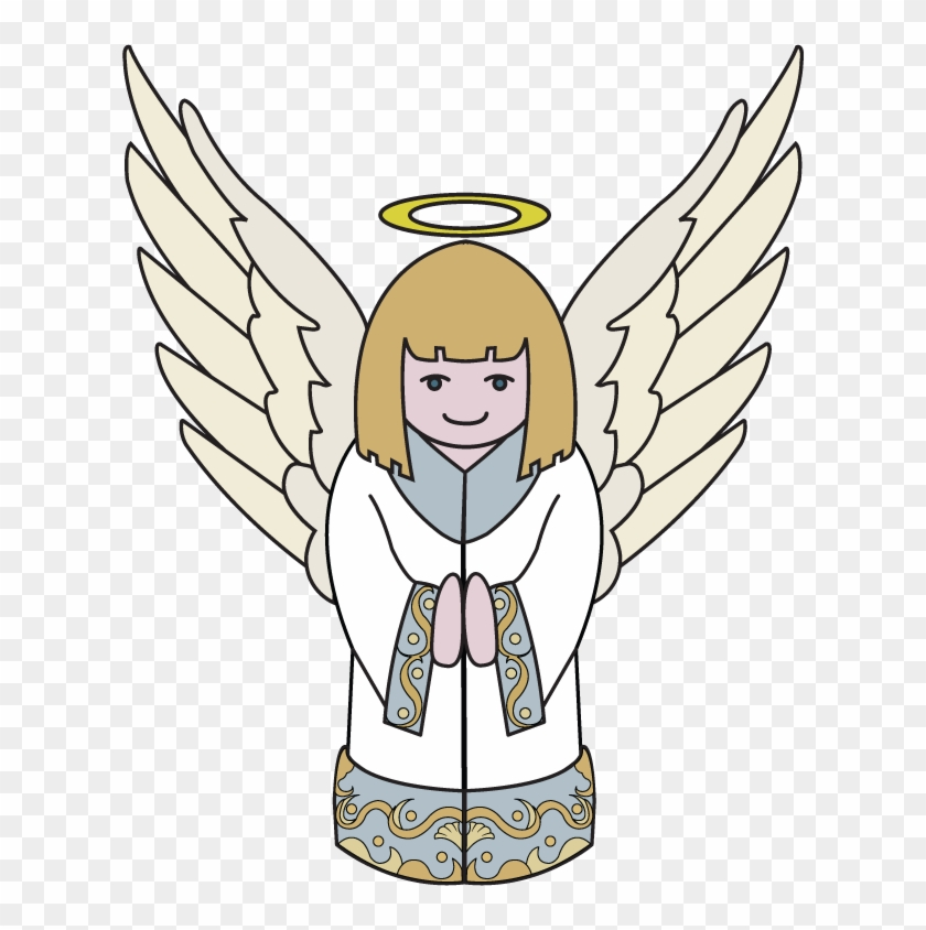 Free Christian Clip Art Illustrations of Heaven and Hell - Angels and  Demons.