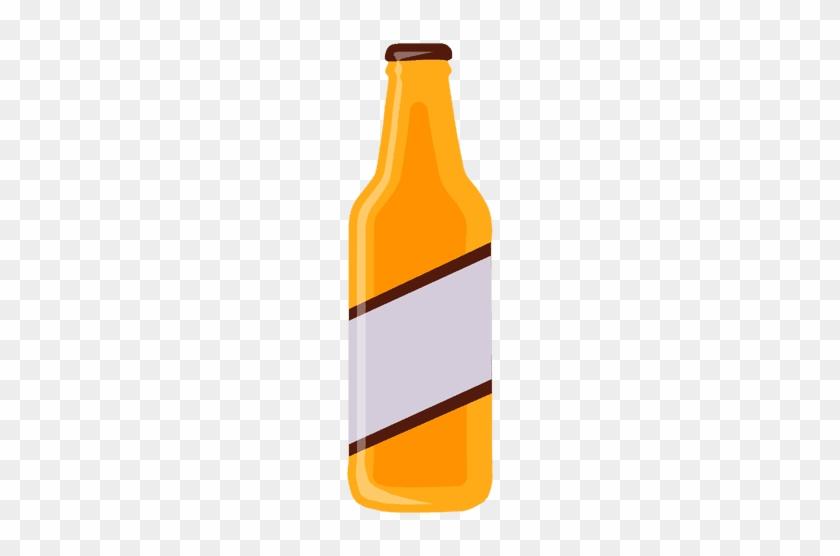 Beer Bottle Transparent Png - Bottle Of Beer Vector Png #849072
