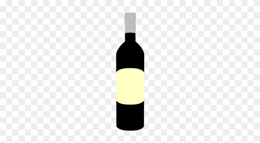 Wine Bottle Vector And Png Free Download The Graphic - Wine Bottle #849085