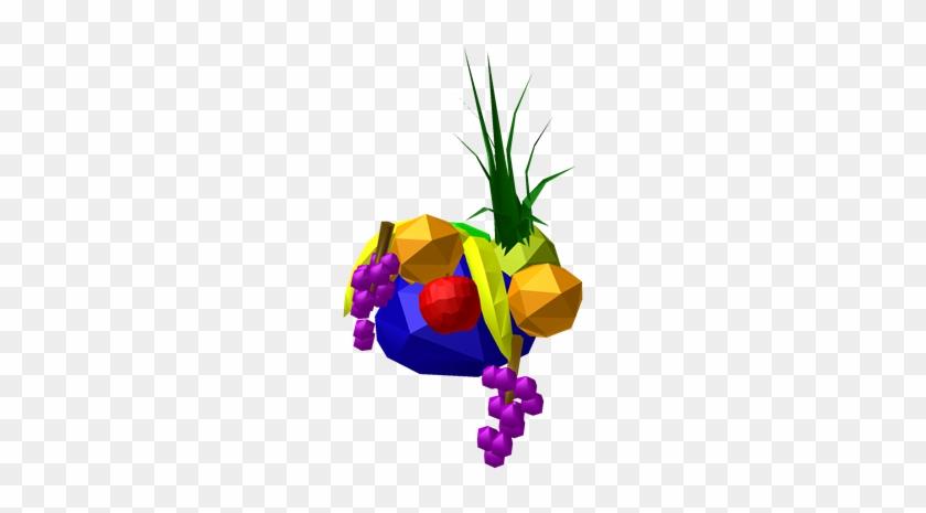 3d Roblox Fruit Hat Free Transparent Png Clipart Images Download
