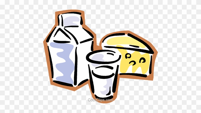 Cheese Clipart Milk And Cheese - Dairy Products Clip Art #849867