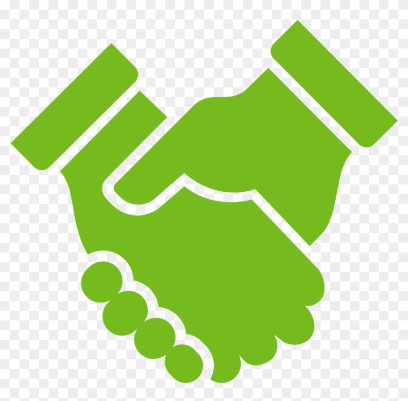 Shaking Hands Icon Representing Respect - Handshake - Free ...