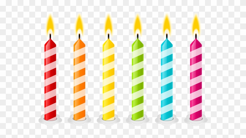 Birthday Candles Png Vector Clipart Image - Birthday Cake Candles Clipart #850682