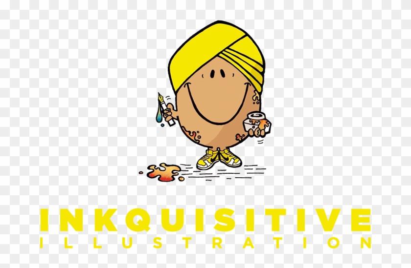 Inkquisitive Illustration - Inkquisitive Illustration Logo #851235