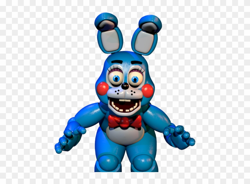 Fnaf 2 Toy Bonnie With Blue Eyes By James2002dj Toy Bonnie Jumpscare Gif Free Transparent Png Clipart Images Download