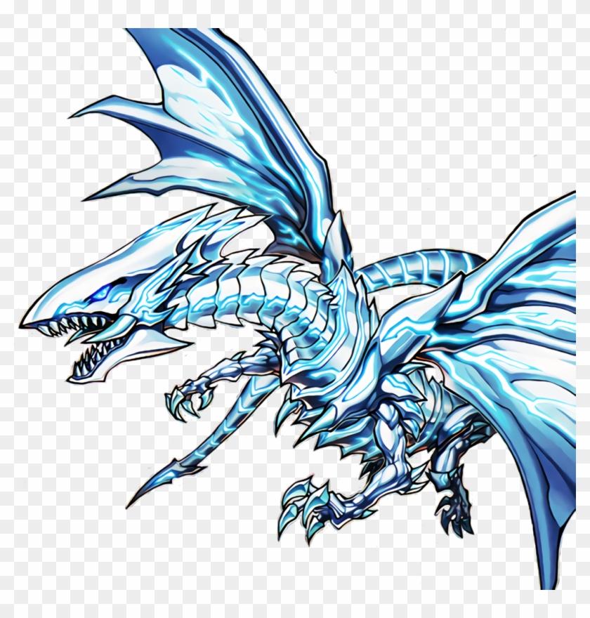 Blue-eyes Alternative White Dragon [render] By Newarkantos - Blue-eyes Alternative White Dragon Mvpc-jp000 Yugioh #851424