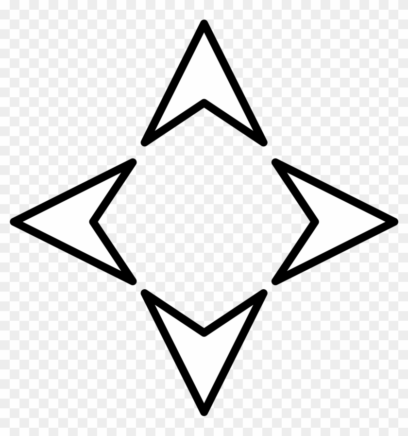 Big Image - Four Direction Arrow #851694