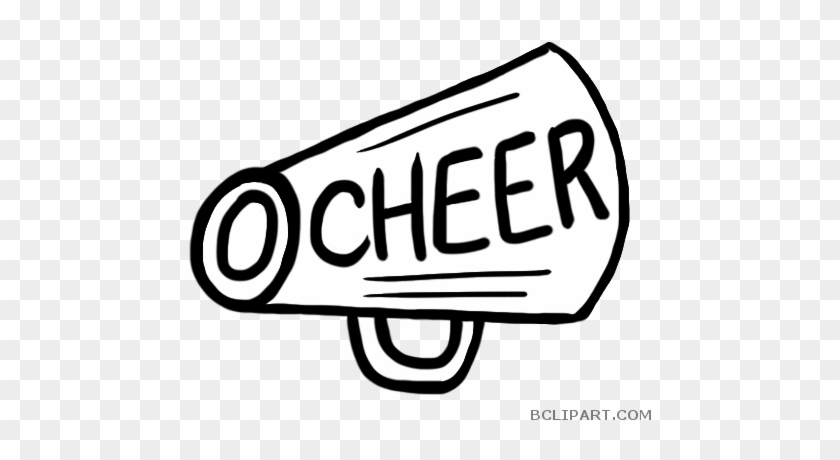Cheerleading Megaphone Tools Free Clipart Images Bclipart - Cheerleading #852049
