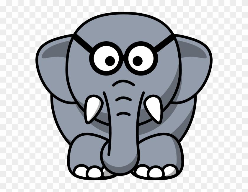 Cartoon Elephant Sad #852061