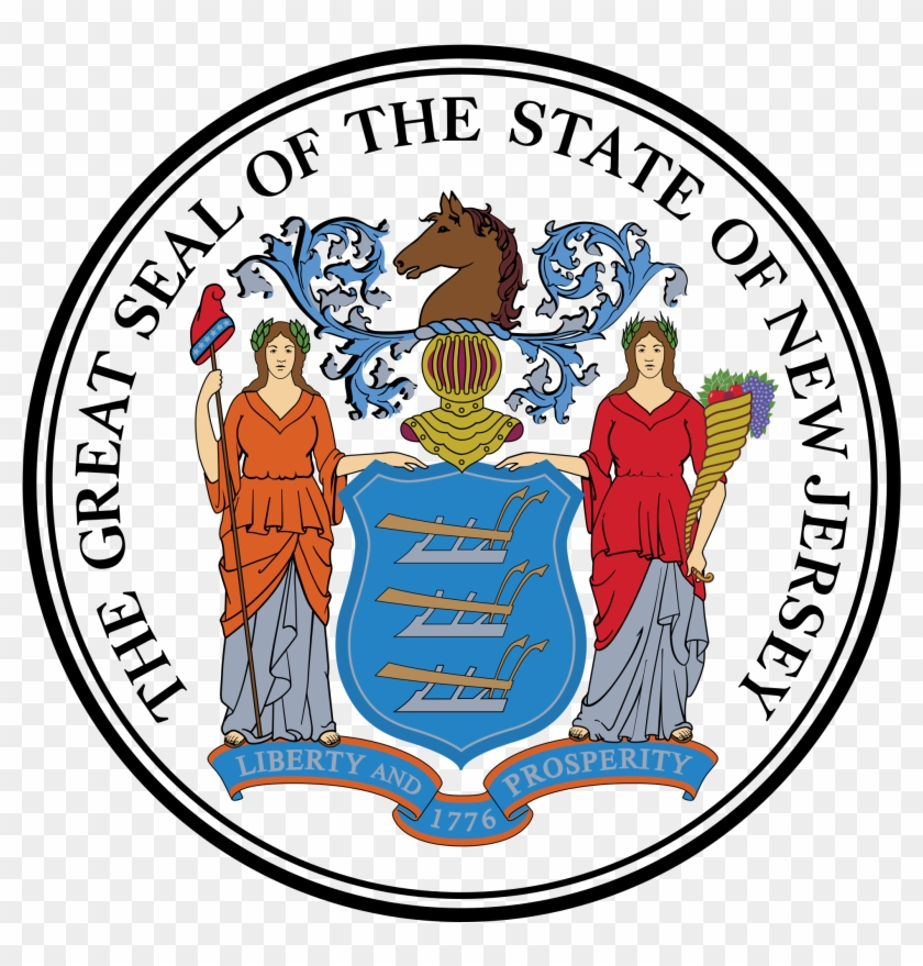 Open - New Jersey State Seal #852224
