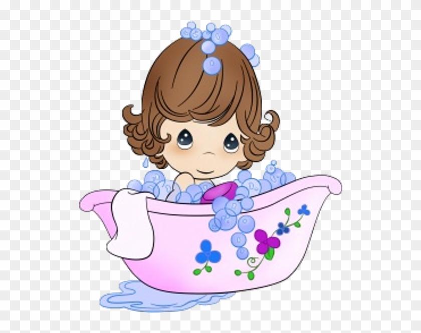 Funny Baby Girl - Cute Girl Baby Cartoon #852924