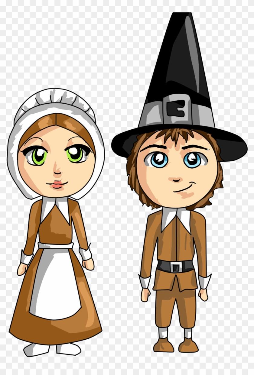 pilgrim thanksgiving clipart pilgrim cartoon clipart
