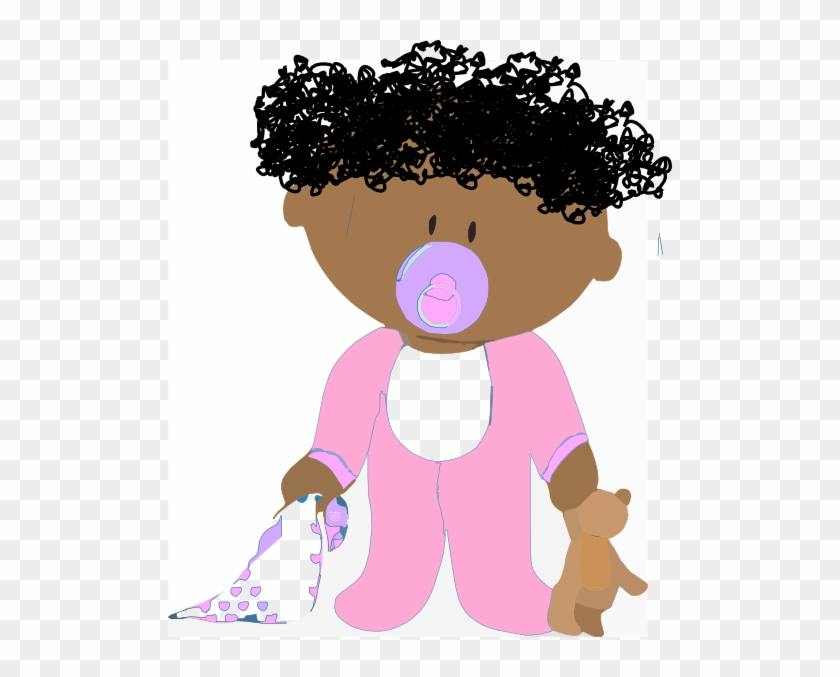 Curly Hair Baby Cartoon Free Transparent Png Clipart Images Download