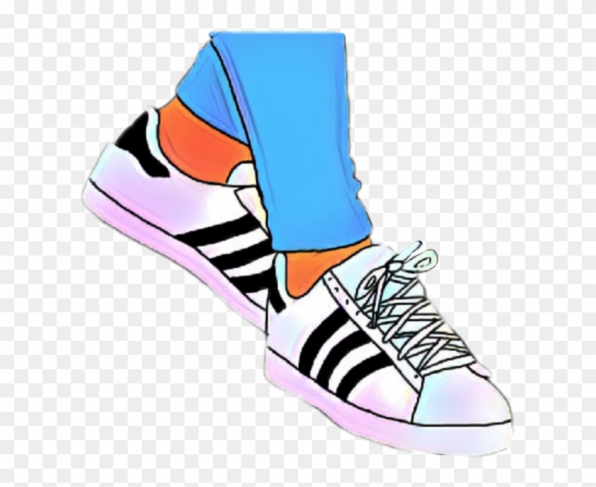 70d273d2da71 Sneakers Clipart Picsart - Adidas Stan Smith With Stripes - Free ...