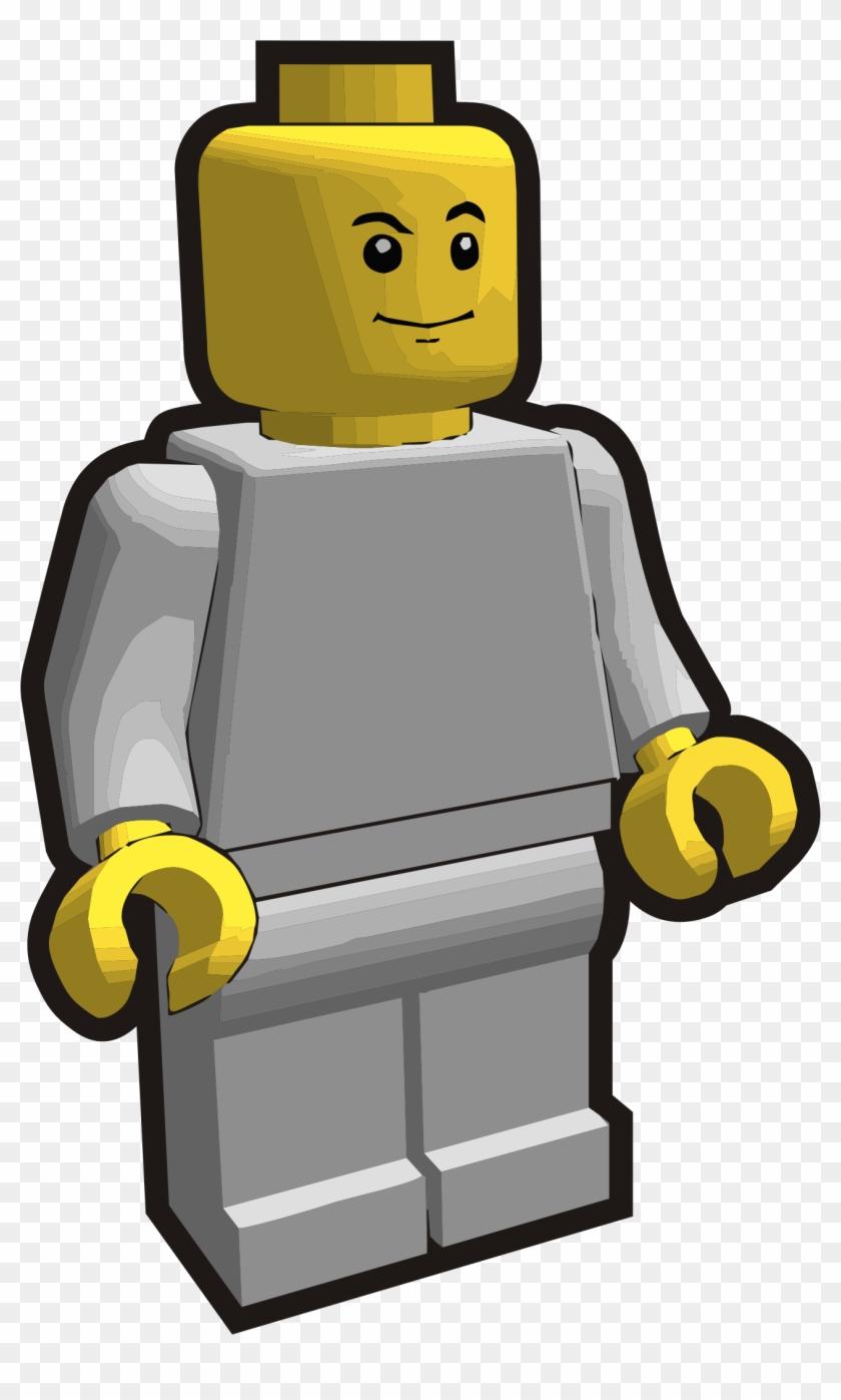 Lego Minifigure Vector Clip Art Public Domain Vectors