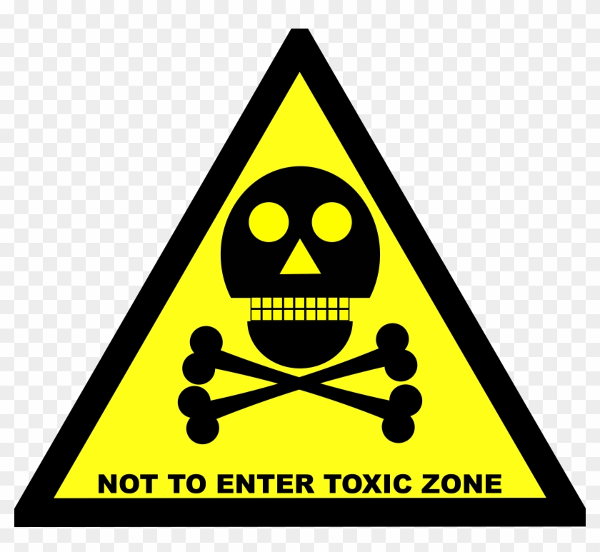 Toxic Clipart Caution - Skull And Bones Do Not Enter #854557
