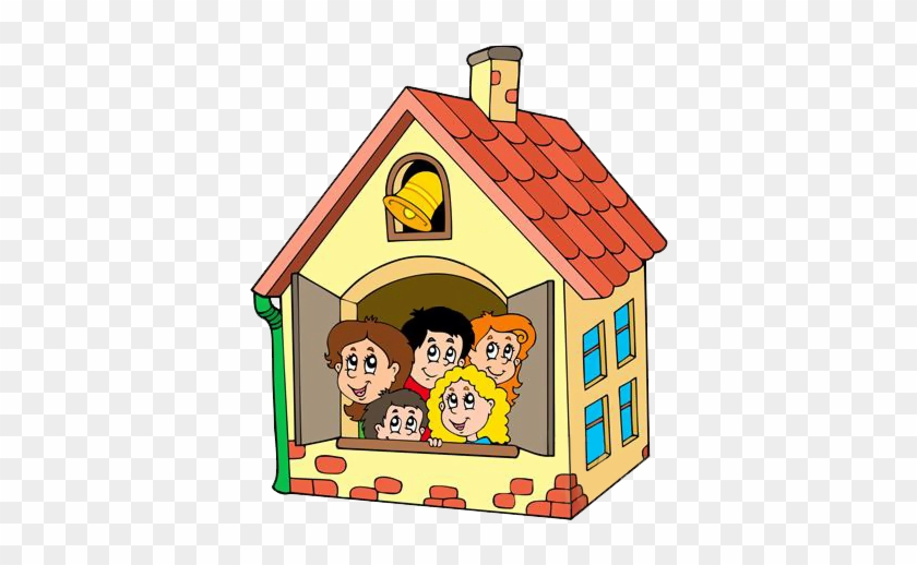Gify Nena - Kids In A House Cartoon #854841
