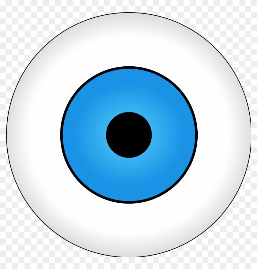 Monster Eyeball Clipart - Small Eye Png #854889