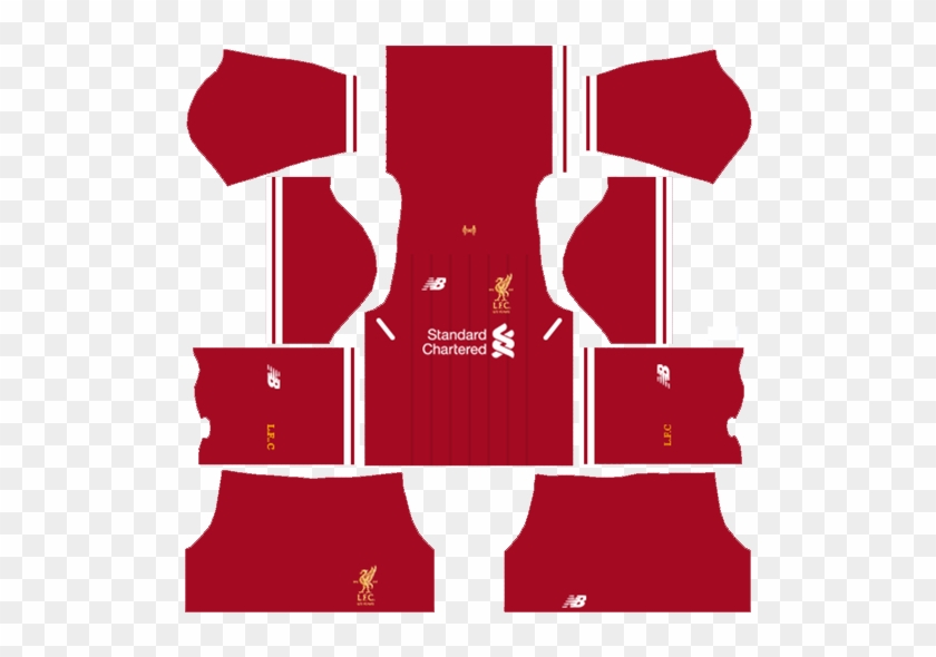 Dream League Soccer 2018 Liverpool Red Home Kit - Dls 18 Kits Kerala