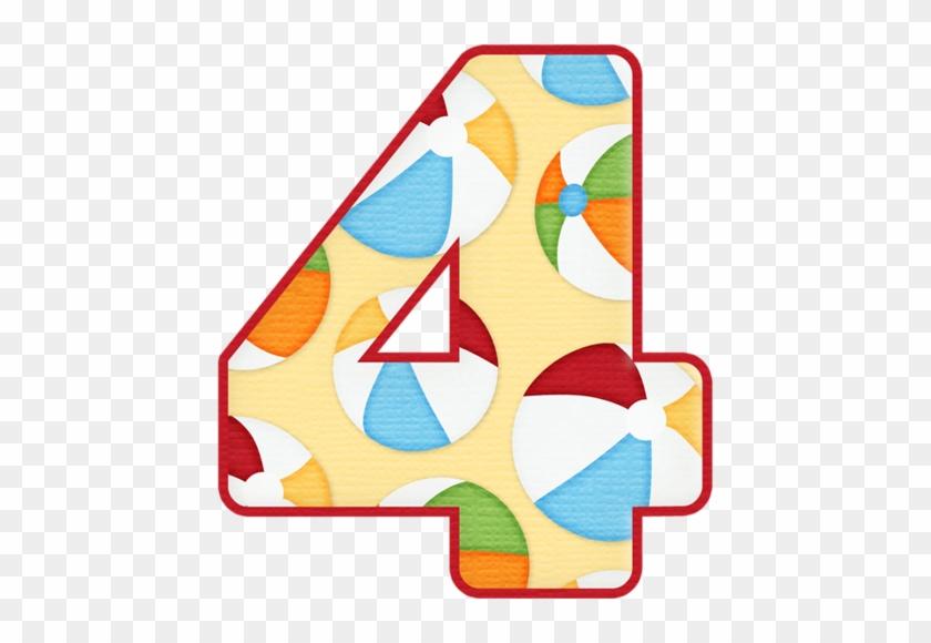 4 Pool Party - Alphabet #854951