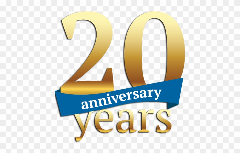 20yrs - 20 Year Anniversary Png #855217