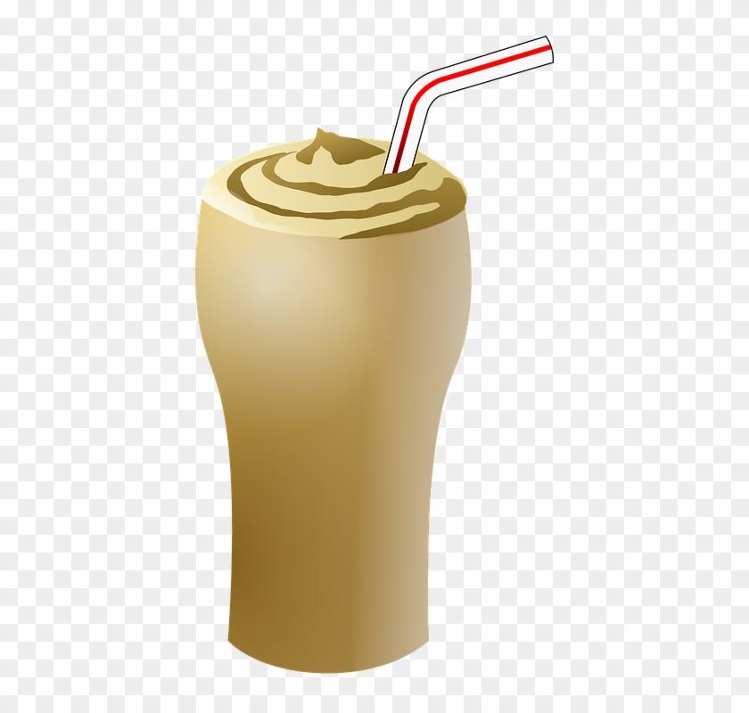 Iced Coffee Cliparts 8, Buy Clip Art - Chocolate Milkshake Clip Art #855713