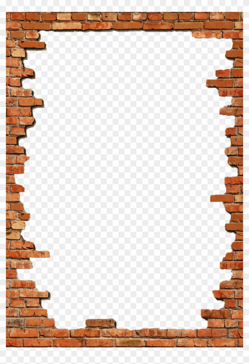 P / - Bricks Borders Clip Art #855899