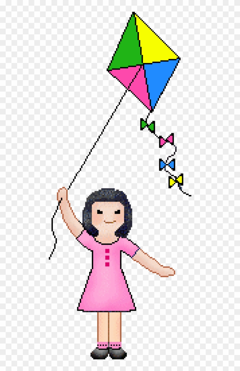 Kite Clipart Illustration Flying Kites Transparent Gif Free