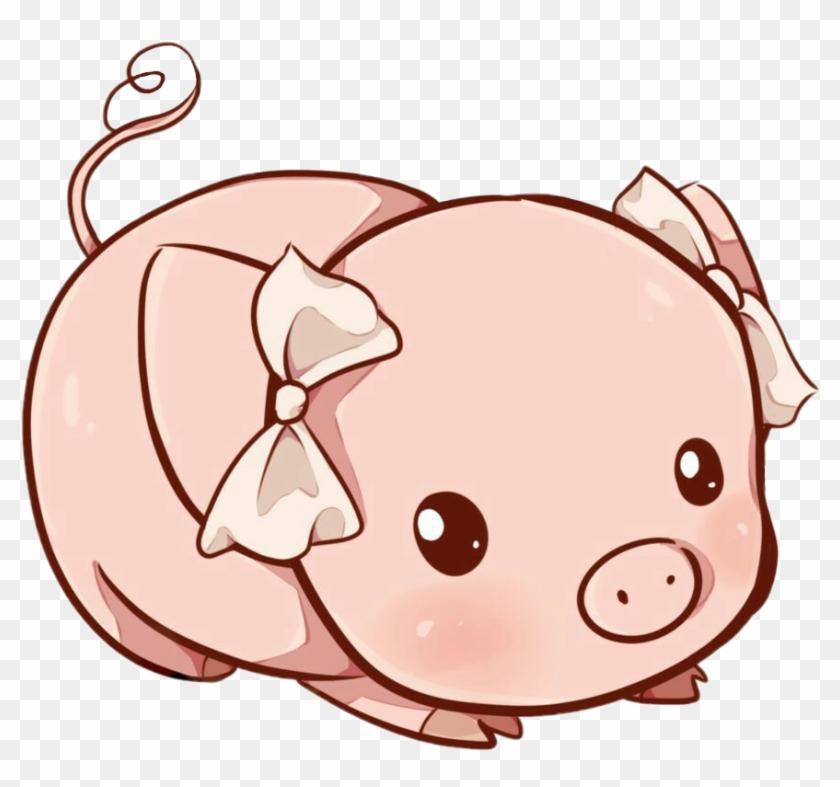 Freeedit Petsandanimals Pig Rose Cutie People Cute - Cute Pig Drawing #856024