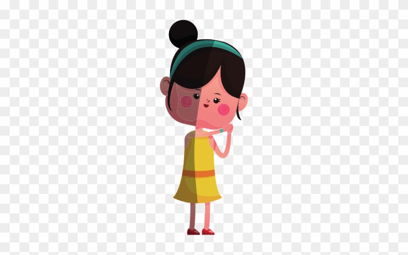 Cute Girl Cartoon Icon Love Free Transparent Png Clipart Images