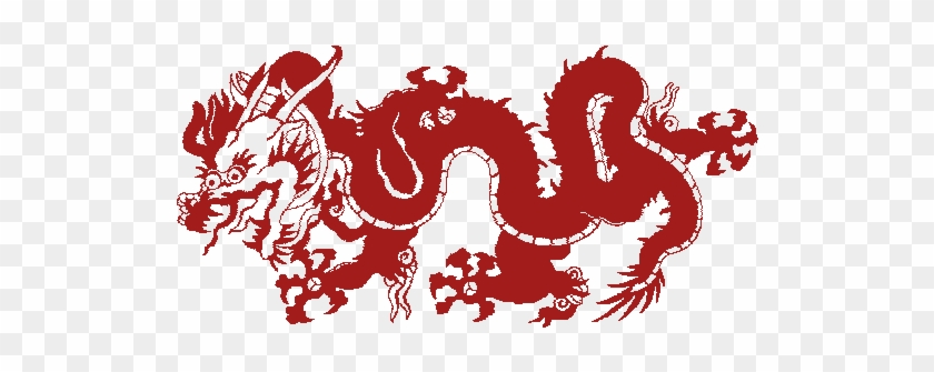 Dragons Clipart - Animated Chinese Dragon Gif #856544