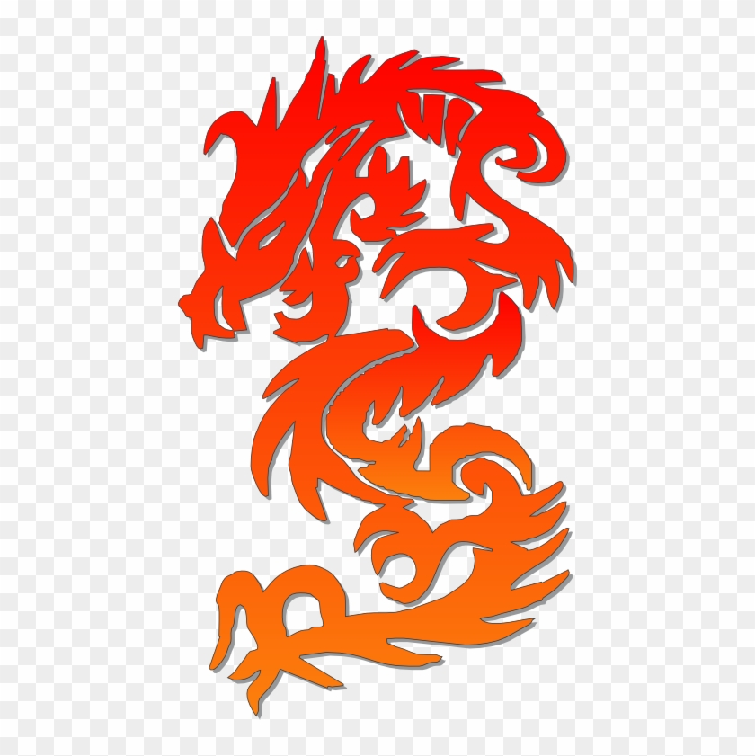 Chinese Dragon Clipart Symbol - Chinese Dragon Logo Png #856581