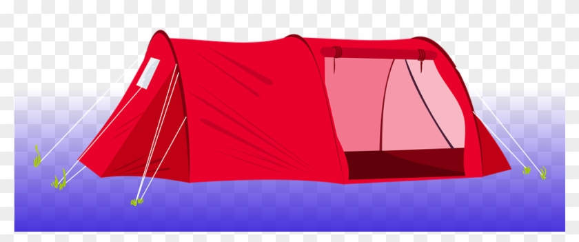 Free Illustration Tent Camping Red Clip Art Image On - Red Tent Clipart #856847