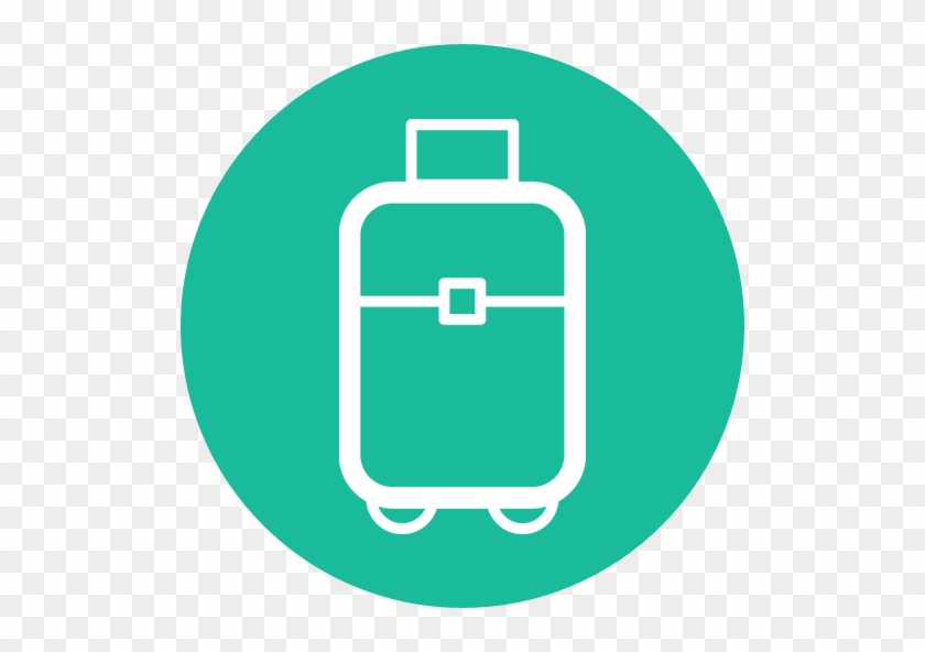 Suitcase Travel Flat Design Travel Icon Png Suitcase - Travel Icon Png #857138