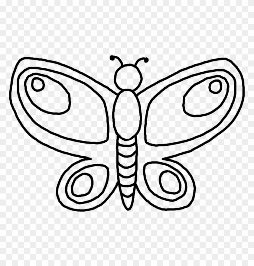 picture about Printable Butterfly Pictures identify Printable Butterfly Define Coloring Web pages Habit - Clipart