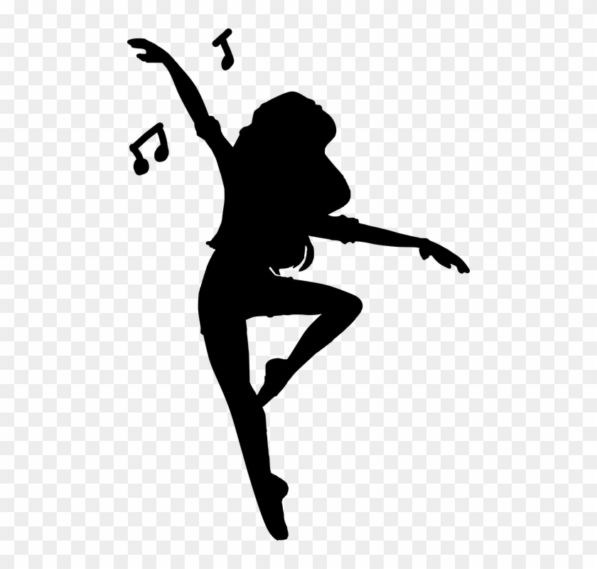 Silhouette Dancing Woman People Art Happy Women Dancing Silhouettes Png Free Transparent Png Clipart Images Download