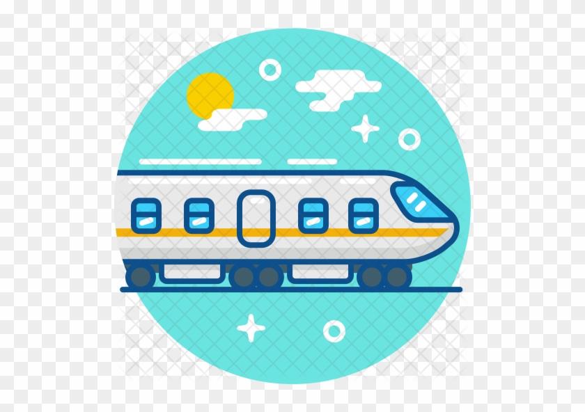 Train Icon - High-speed Rail #857318