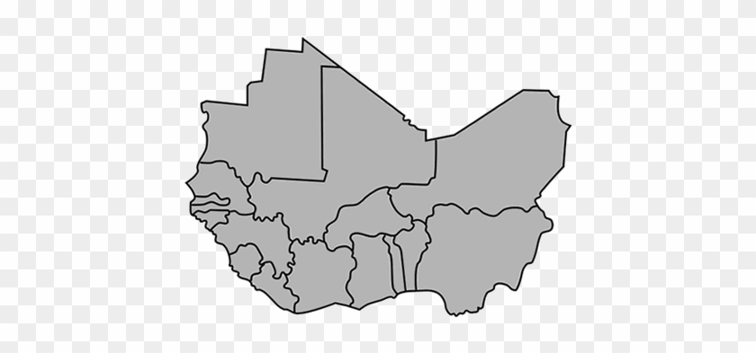 Africa Clipart Group West Africa Map Outline Free Transparent
