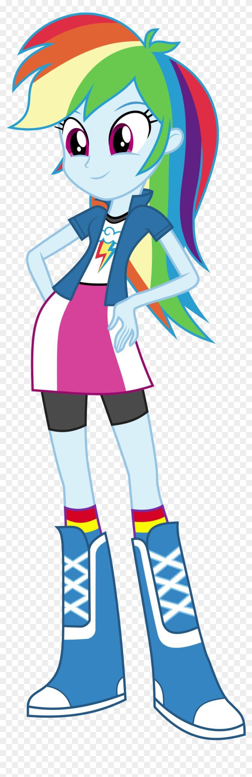 Rainbow Dash Deal With It Download - My Little Pony Equestria Girls Rainbow Dash #858101