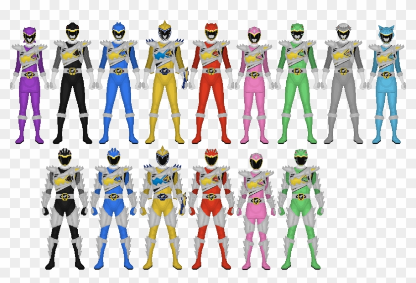 All The Power Rangers In Dino Charge #858810