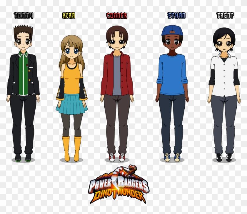 Kisekae Power Rangers Dino Thunder By Camilosama - Power