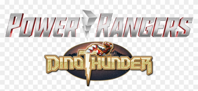 Power Ranger Dino Thunder Hasbro Style Logo By Bilico86