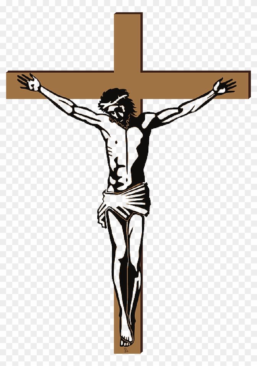 Symbol Cross Christian Religion Christ Jesus Public - Symbol Of Christian Religion #858973