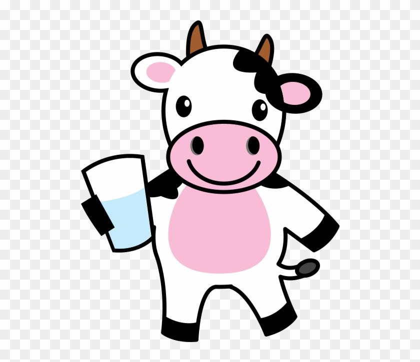 Cattle Cartoon Drawing Clip Art - Dairy Cow Cartoon #860061