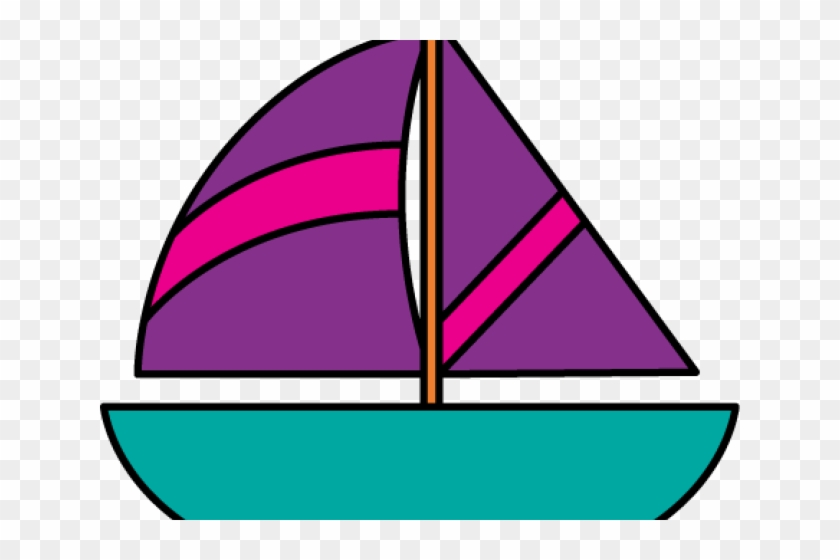 Row Boat Clipart - Clip Art Sail Boat #861330