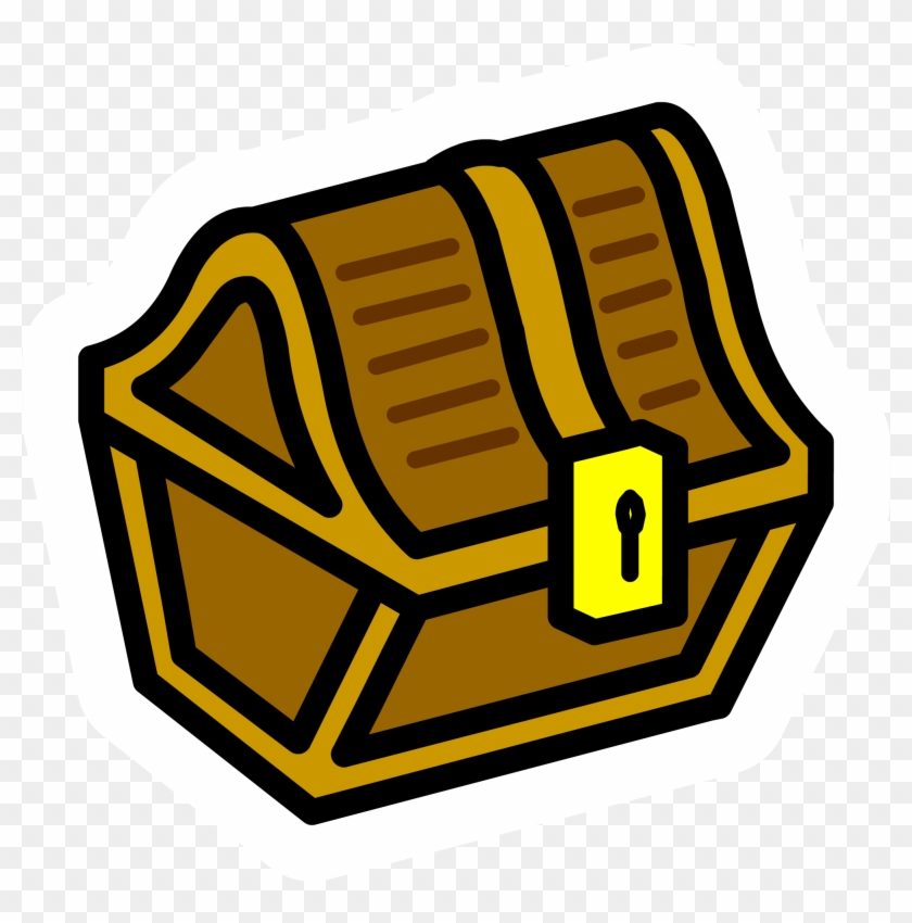 Treasure Chest Pin - Treasure Chest Animated Png #155758