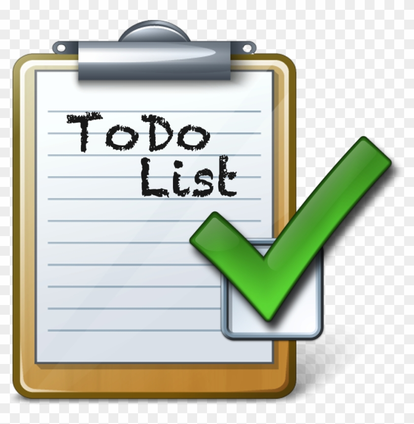 checklist to do list clipart do list 155927